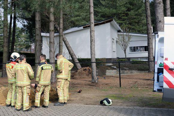 De bewoners verwittigden woensdagmiddag de brandweer omdat ze een gasgeur waarnamen.