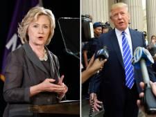 Donald Trump progresse, Hillary Clinton s'essouffle
