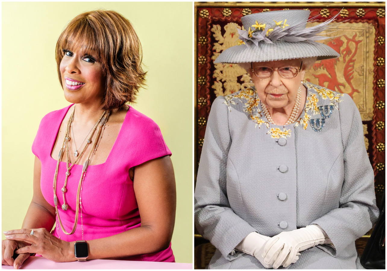 Gayle King en koningin Elizabeth