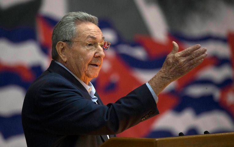 Raúl Castro Beeld AP
