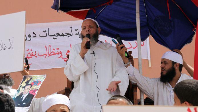 Mohamed al-Maghraoui in Marrakech, in mei.