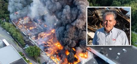 Bijna onmogelijk en toch overkwam het Vincent: twee van zijn panden gingen in vlammen op