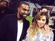 'Huwelijksreis Kim en Kanye naar de ruimte'