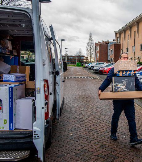 Pakketjes bezorgers en winkels bevoorraden moet 'groener', maar hoe? Eindhoven studeert erop, met hulp van bedrijven