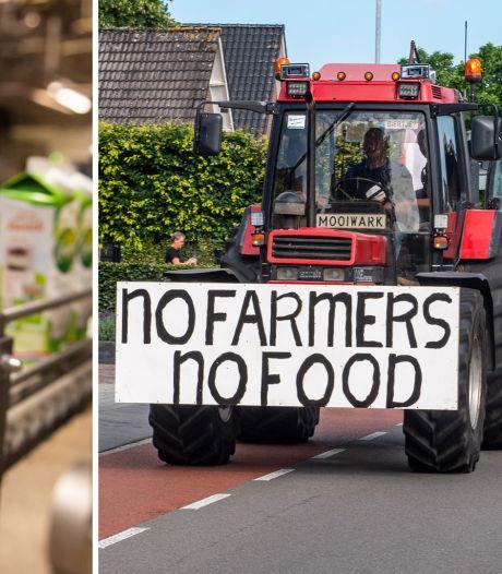 Boze boeren dreigen met actie als bank en industrie doorgaan met plan voor bouw huizen op landbouwgrond