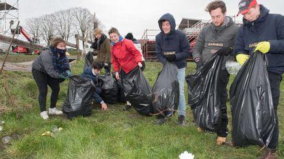 De minder fraaie zijde van de Ronde: hellingen herschapen tot afvalberg