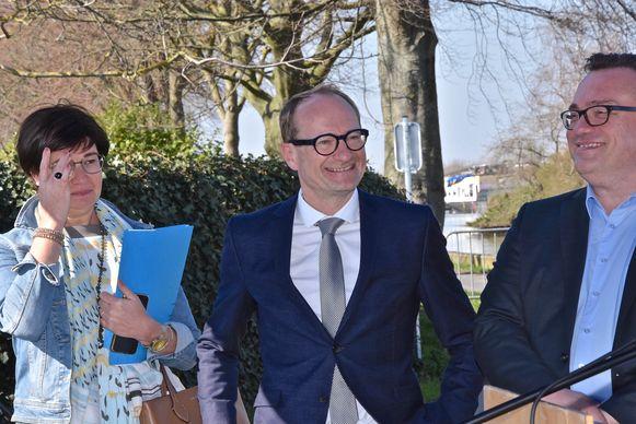 Jaagpad met tunnel voor fietsers - Vlaams minister voor Mobiliteit en Openbare Werken, Ben Weyts