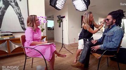"""""""Ik wil dat je losjes bent"""": Lenny Kravitz flirt erop los met Australische interviewster"""