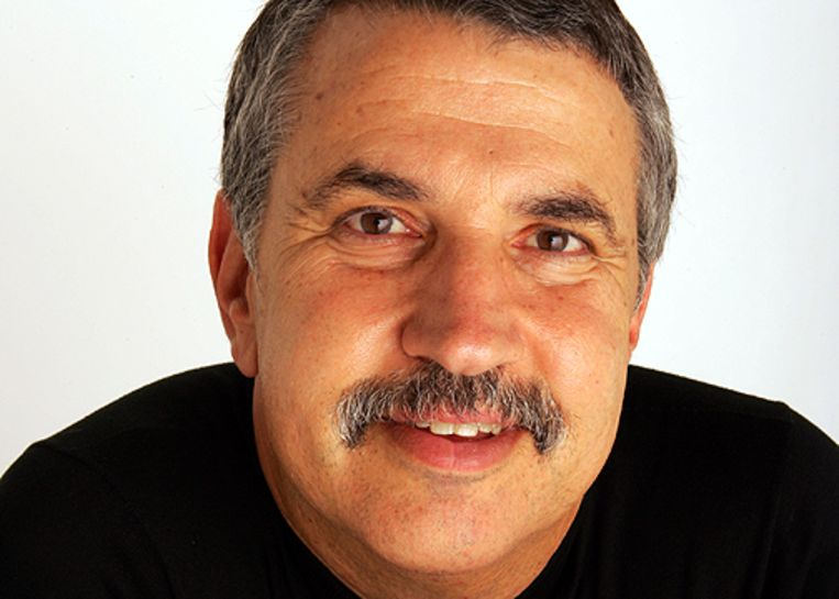 Thomas L. Friedman. Beeld rv