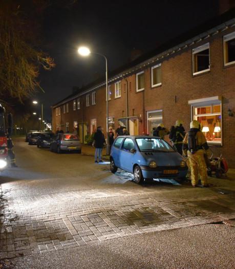 Woningbrand aan Parallelweg in Almelo