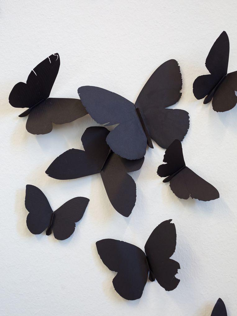 Carlos Amorales, 'Black Cloud' (2007). Beeld Peter Tijhuis