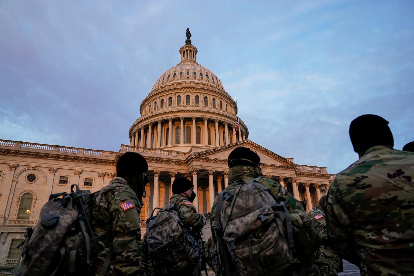 Jusqu'à 15.000 soldats de la Garde nationale seront mobilisés pour l'investiture de Joe Biden, le 20 janvier.