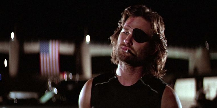 Kurt Russell in 'Escape from New York' van John Carpenter. Beeld