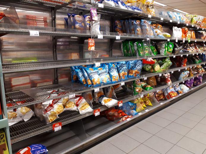 Steeds meer producten zijn niet langer verkrijgbaar bij Albert Heijn in Berghem.