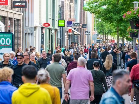 Drukte in binnenstad neemt in Apeldoorn  harder toe dan in veel andere steden