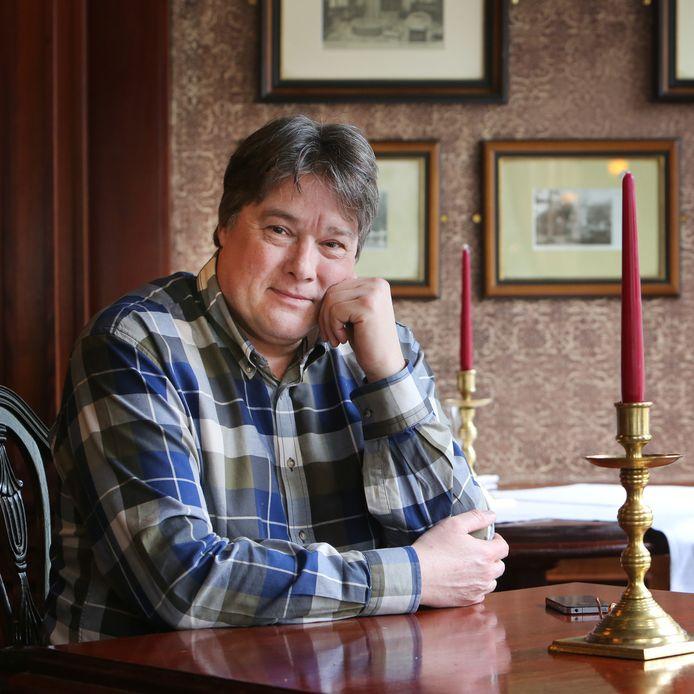 PETER WERTHER, DIRECTEUR/ EIGENAAR VAN HET MASTBOSCHHOTEL EN VOORMALIG VOORZITTER VAN DE BREDASE AFDELING VAN KONINKLIJKE HORECA NEDERLAND.