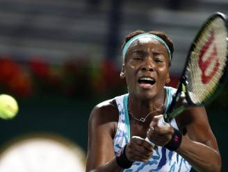 Veterane Venus Williams geeft belofte Bencic tennisles