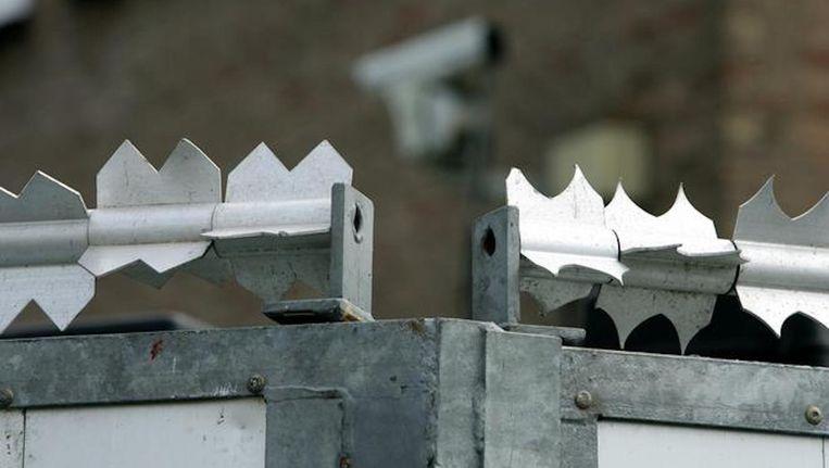 De extra beveiligde rechtbank in Osdorp Beeld anp