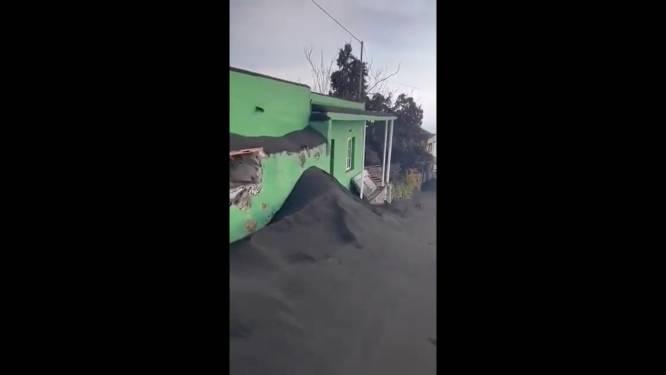Scènes de désolation dans les rues de La Palma depuis l'éruption du volcan Cumbre Vieja