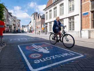 Aantal overtredingen in fietszone meer dan gehalveerd