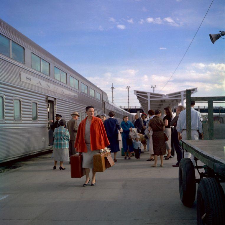 Santa Fe Railroad, Chicago, 1959. Beeld Nalatenschap Vivian Maier, Maloof Collection en Howard Greenberg Gallery, New York