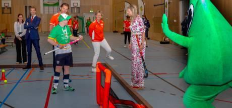 Vlag voor de Special Olympics officieel overgedragen aan Twente