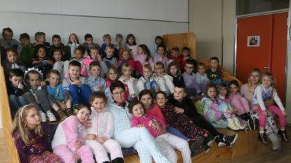 Leerlingen van Dol-Fijn komen in pyjama naar school