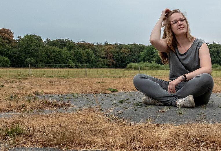 Rachelle van Andel wordt een van de vijf vernieuwingspredikanten. 'Ik ervaar dit als een mooie open ruimte, ik mag het beroep opnieuw uitvinden.' Beeld Patrick Post