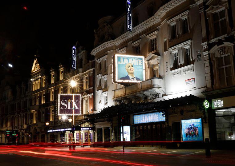 Het Apollo Theatre in Londen. Beeld AP