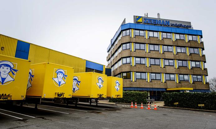 Exterieur van het hoofdkantoor van Zeeman in Alphen.