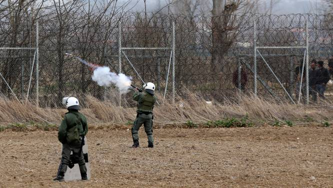 350 demonstranten eisen in Brussel oplossing voor humanitaire crisis langs Grieks-Turkse grens