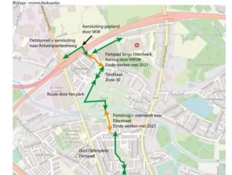 Nieuwe Tivoliroute verbindt centrum vanaf mei met ziekenhuis