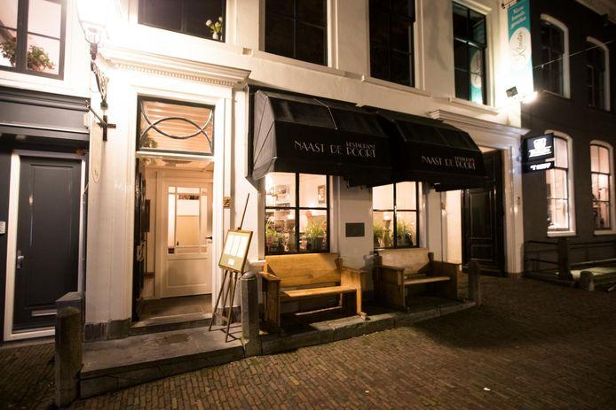 Het inmiddels gesloten Naast de Poort. Hier openen David Bruggeman en Laura Meyer op 1 juli een nieuw restaurant.