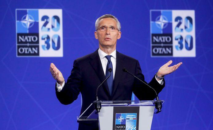 Le secrétaire général de l'Alliance, Jens Stoltenberg.