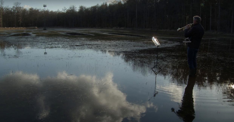 Een opname uit 'IJswee', de afstudeerfilm van Okki Poortvliet