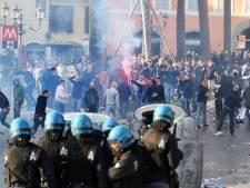 Feyenoordhooligans voor rechter voor rellen in Rome