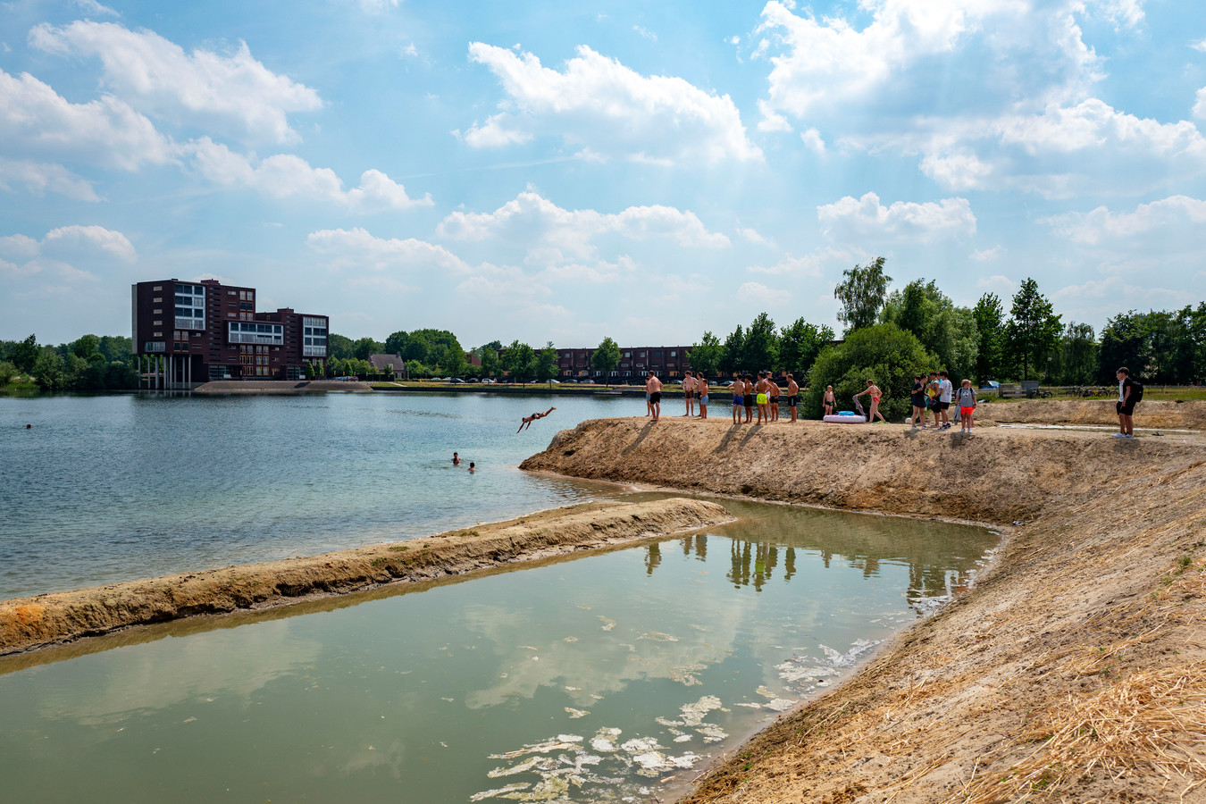 Goirle - Pix4Profs - Joris Buijs Zwemmen in de Oostplas