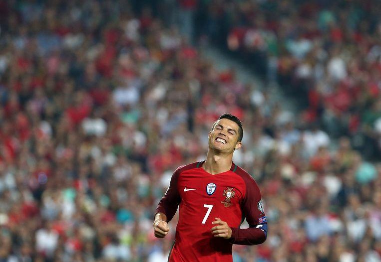 Cristiano Ronaldo wil het scenario van 2014 niet herhaald zien: uitschakeling in de poulefase. Beeld AP