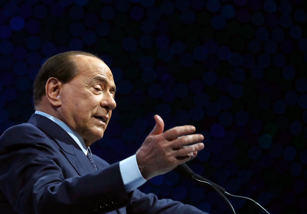 De 83-jarige Silvio Berlusconi.