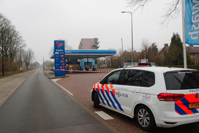 Overval op tankstation de Haan aan de Huizingalaan in Eindhoven.