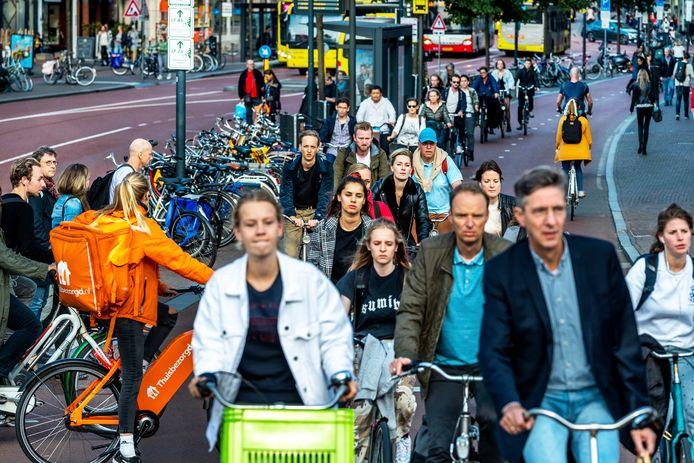 Utrecht krijgt tot 2040 zo'n 100.000 inwoners erbij. Daarmee is Utrecht van de vier grootste steden de snelste groeiende stad van Nederland.