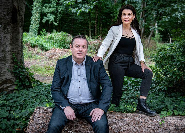 René Haring en Philomenia Arissen, nu beiden hulpverlener, willen de kennis van de ex-pleger en het ex-slachtoffer samenbrengen.  Beeld Koen Verheijden