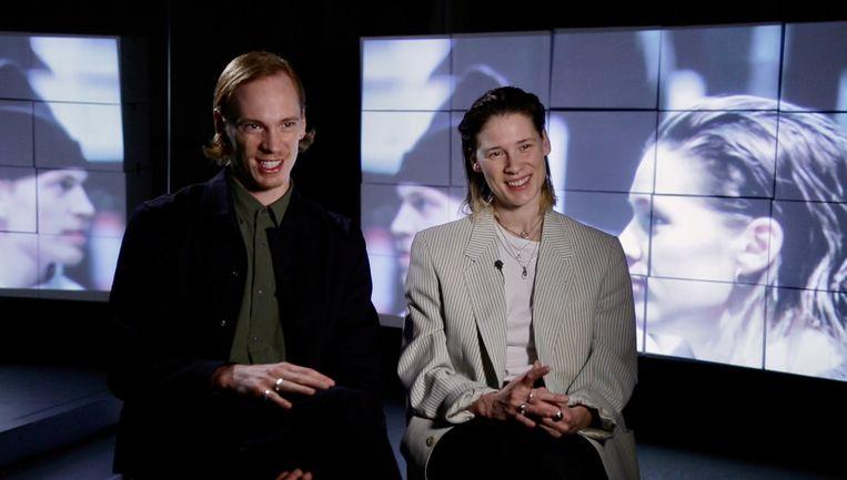 Choreografen Marne & Imre van Opstal. Beeld