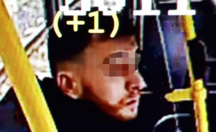 Gökmen Tanis werd door camera's in de tram gefilmd