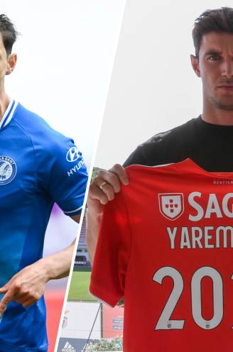 De kassa rinkelt opnieuw bij AA Gent: transfer Yaremchuk naar Benfica levert Buffalo's beoogde bedrag op