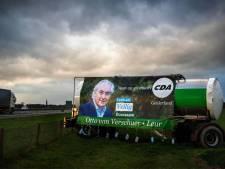 'De baron uit Leur' maakt verkiezingsreclame op de melktank
