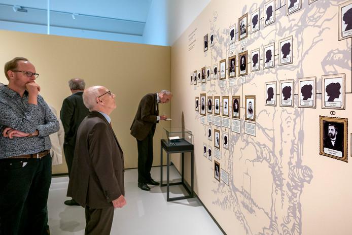 Nederland,  Den Bosch, Tentoonstelling Van Goghs intimi in het Noordbrabantsmuseum.