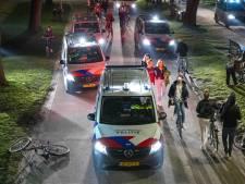 Tien politiebusjes maken einde aan feest met honderden mensen in Amsterdams Vondelpark