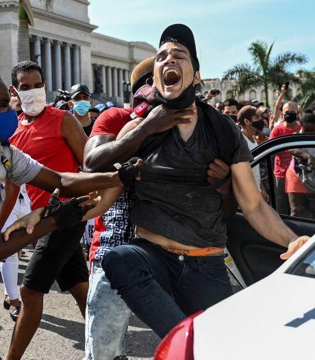 """Les États-Unis sanctionnent Cuba pour la """"répression"""" des """"manifestations pacifiques"""""""
