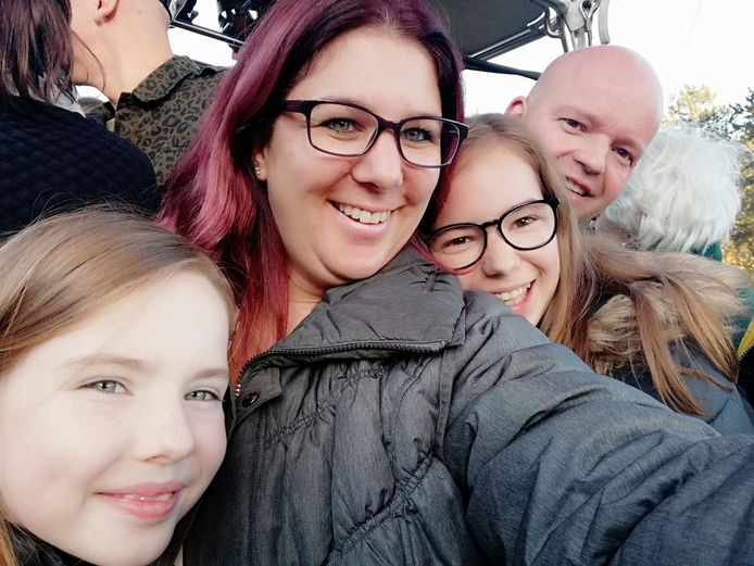 Angela en haar gezin